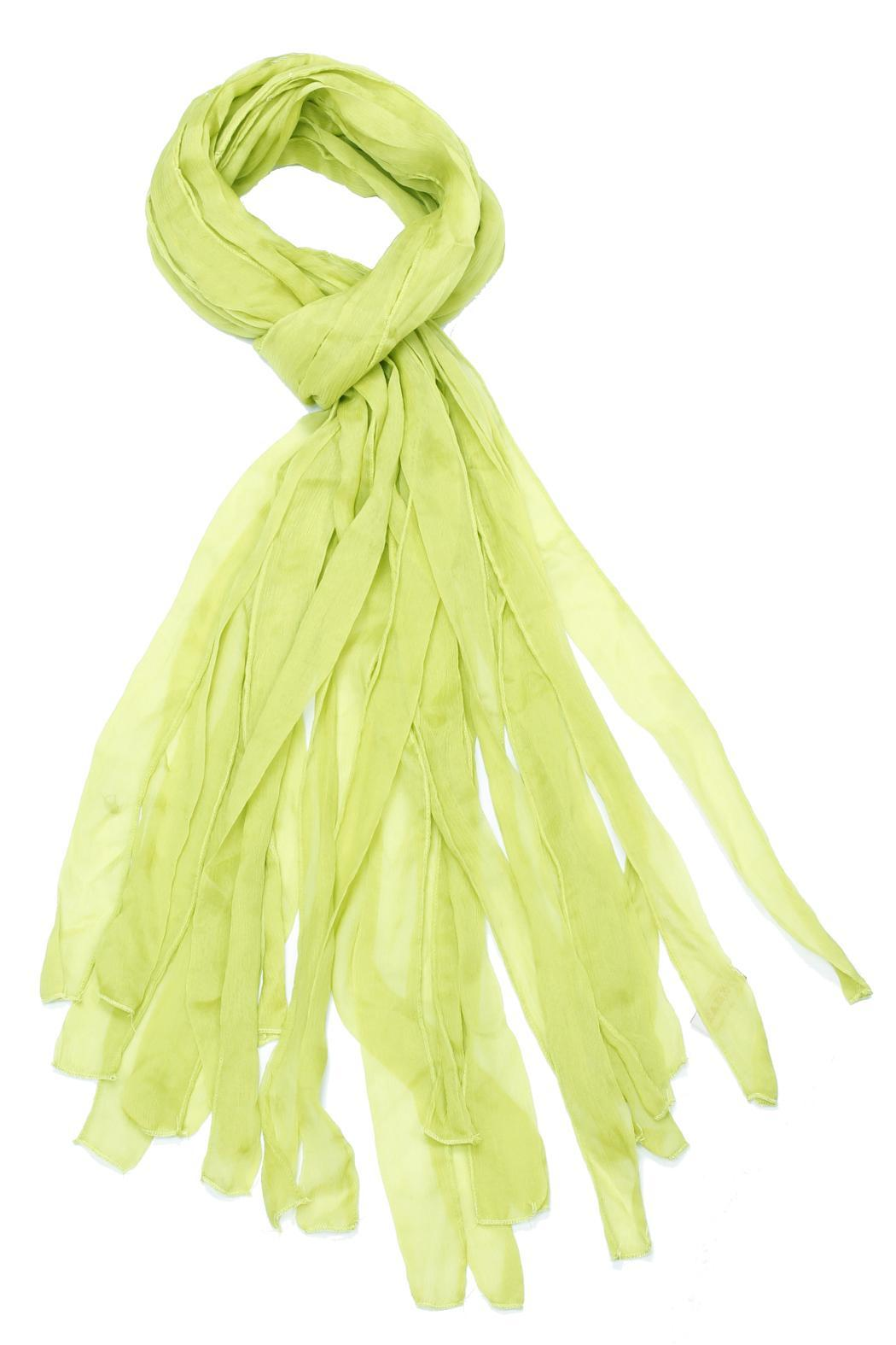Violet Del Mar Octopus Frilly Scarf - Front Cropped Image