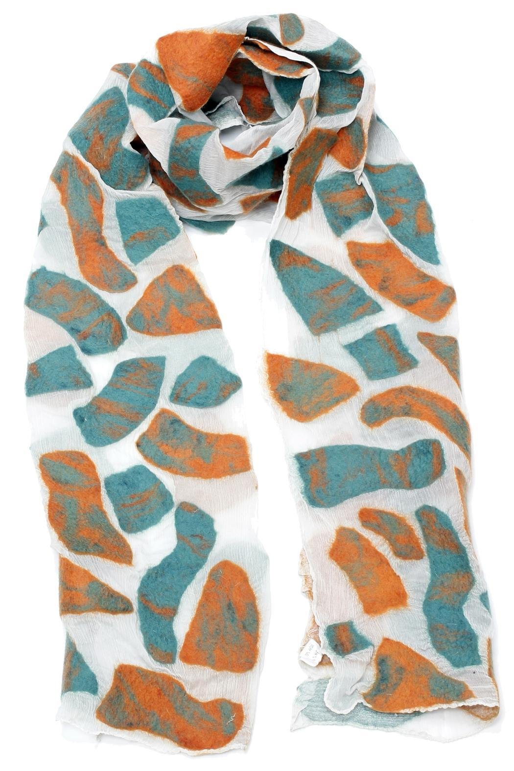 Violet Del Mar Green Patch Scarf - Main Image