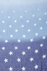 Violet Del Mar Ombre Star Scarf - Front full body