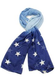Violet Del Mar Ombre Star Scarf - Product Mini Image