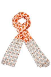 Violet Del Mar Orange Grey Scarf - Product Mini Image