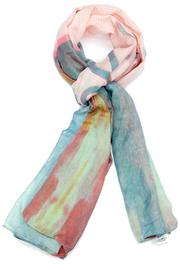 Violet Del Mar Pastel Happy Scarf - Front cropped