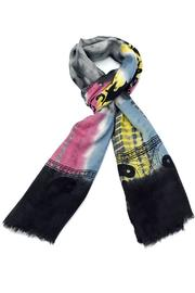 Violet Del Mar Tie-Dye Peace Scarf - Front cropped
