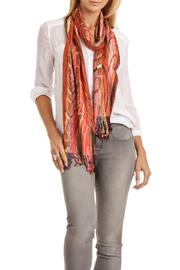 Violet Del Mar Picasso Silk Scarf - Front full body