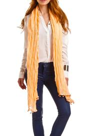 Violet Del Mar Poms Solid Scarf - Product Mini Image