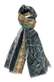 Violet Del Mar Python Grey Scarf - Product Mini Image