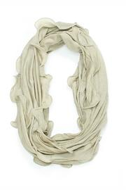 Violet Del Mar Ruffle Infinity Scarf - Front cropped