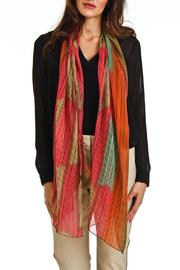 Violet Del Mar Stripe Multicolor Scarf - Product Mini Image