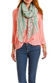 Violet Del Mar Sea Green Scarf - Side cropped