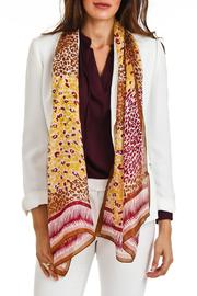 Violet Del Mar Silk Cheetah-Print Scarf - Product Mini Image