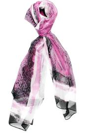 Violet Del Mar Silk Pink Scarf - Product Mini Image