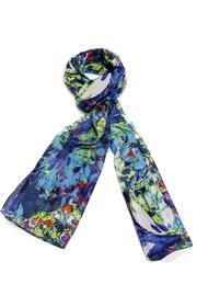 Violet Del Mar Silk Scarf - Product Mini Image