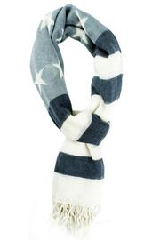 Violet Del Mar Soft-Wool Us-Flag Scarf - Product Mini Image