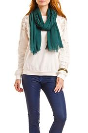 Violet Del Mar Solid Colored Scarf - Side cropped