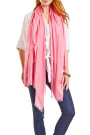 Violet Del Mar Solid Colored Scarf - Front full body