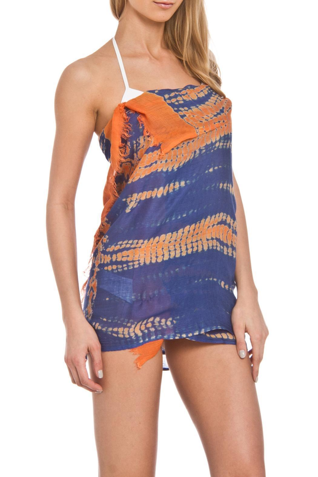 Violet Del Mar Tie-Dye Cover Up - Front Cropped Image