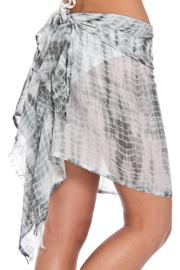 Violet Del Mar Tie-Dye Cover Up - Back cropped