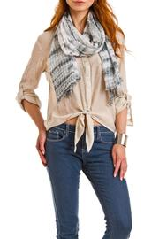Violet Del Mar Tie-Dye Grey Scarf - Side cropped