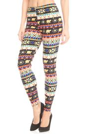Violet Del Mar Tribal Boho Leggings - Product Mini Image