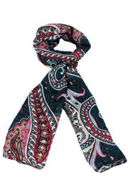 Violet Del Mar Paisley Scarf - Product Mini Image