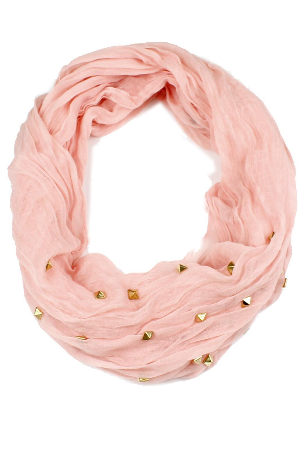 Violet Del Mar Infinity Scarf - Front Cropped Image