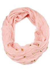 Violet Del Mar Infinity Scarf - Front cropped