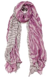 Violet Del Mar Zebra Purple Scarf - Product Mini Image