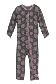 Kickee Pants Violets Zipper Coverall - Front cropped