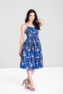 Hell Bunny Violetta 50's Dress - Product List Image