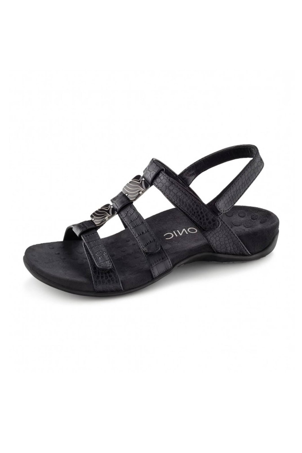 Vionic with Orthaheel Vionic Amber Sandal - Front Cropped Image
