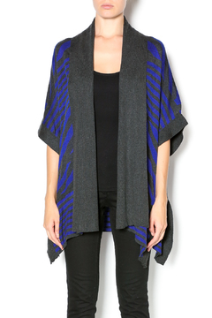 VIP Charcoal Cardigan Wrap - Product List Image