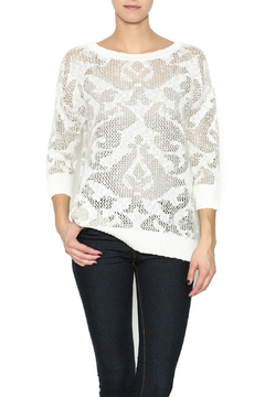 Shoptiques Product: Ivory Layering Sweater