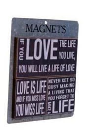 VIP International Black Love Magnets - Product Mini Image