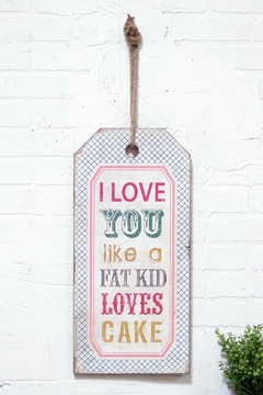 Shoptiques Product: Love You Tag