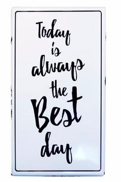 Shoptiques Product: Today Metal Sign