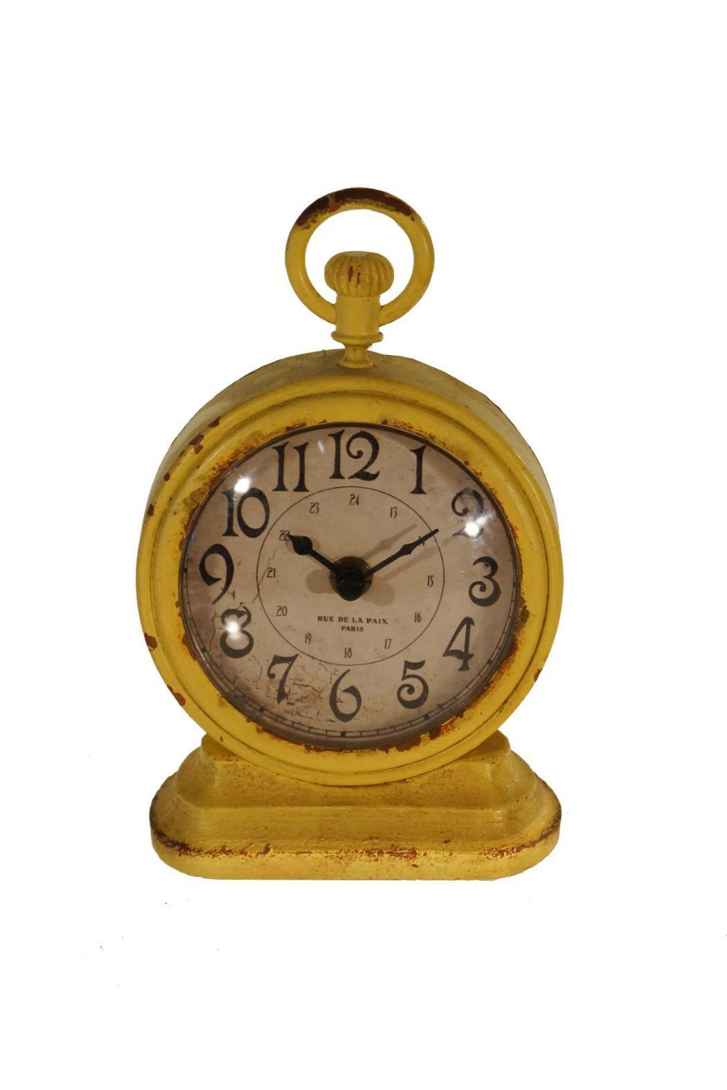 VIP International Vintage Table Clock   Front Cropped Image