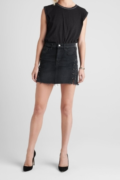 Hudson Viper Denim Skirt - Alternate List Image