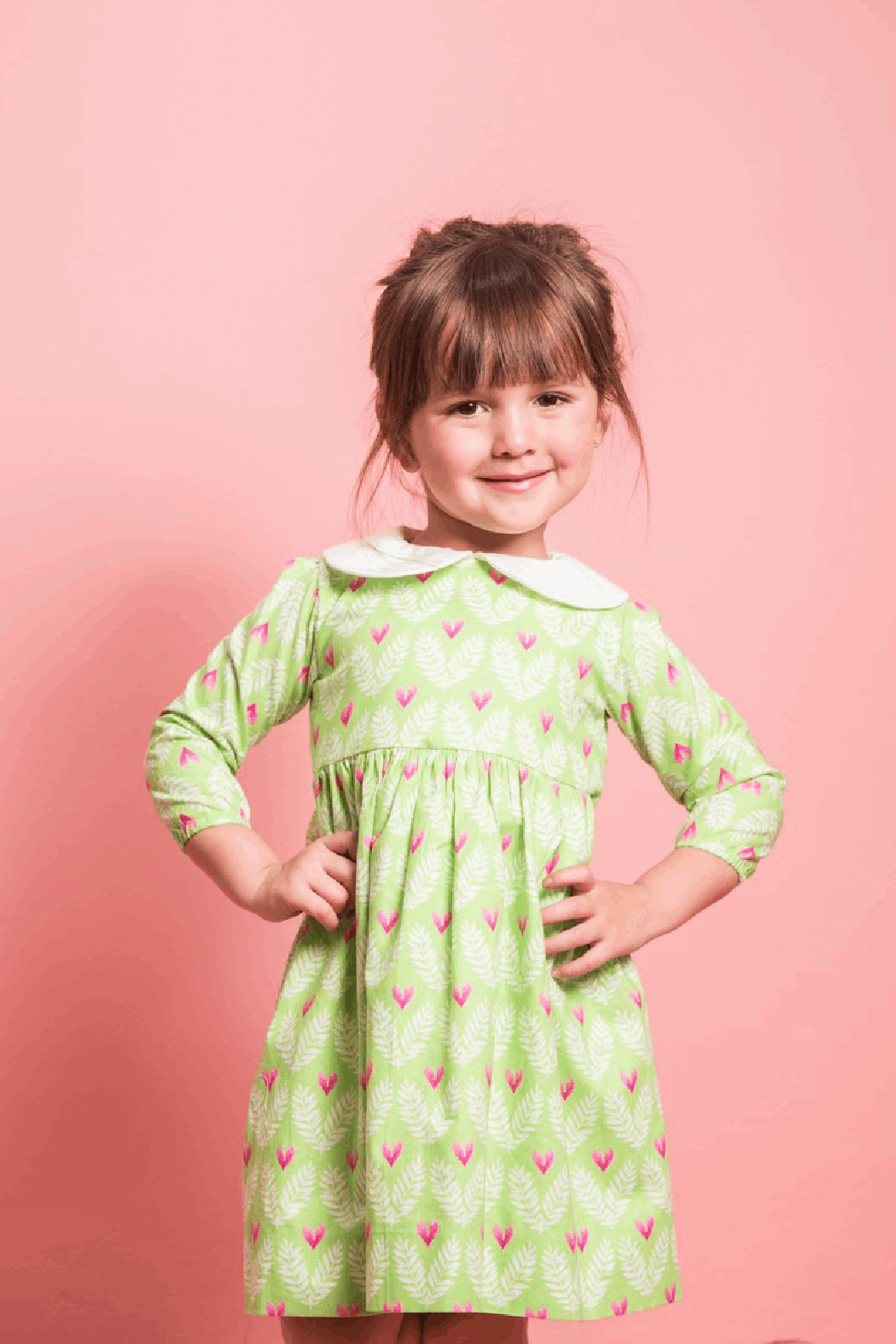 Mandy by Gema Virginia Dress Big Love - Front Cropped Image