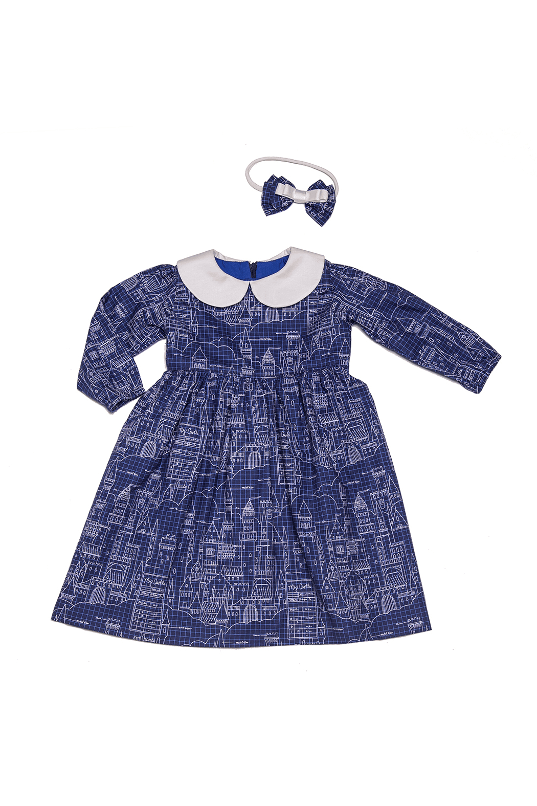 Mandy by Gema Virginia Dress Castle Plans - Front Full Image