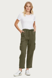 Michael Stars Virginia Linen Cargo Pant - Front cropped