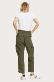 Michael Stars Virginia Linen Cargo Pant - Side cropped