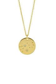 Wild Lilies Jewelry  Virgo Constellation Necklace - Product Mini Image
