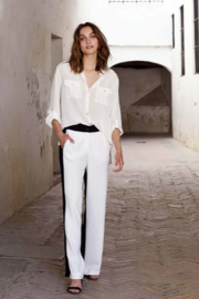 Summum Viscose Crepe Trousers - Other
