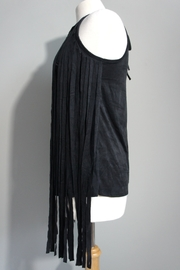 Vision Faux Suede-Fringe Tanktop - Side cropped