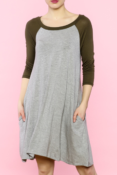 Shoptiques Product: Heather Tee Dress