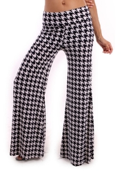 Vision Houndstooth Palazzo Pants - Product Mini Image