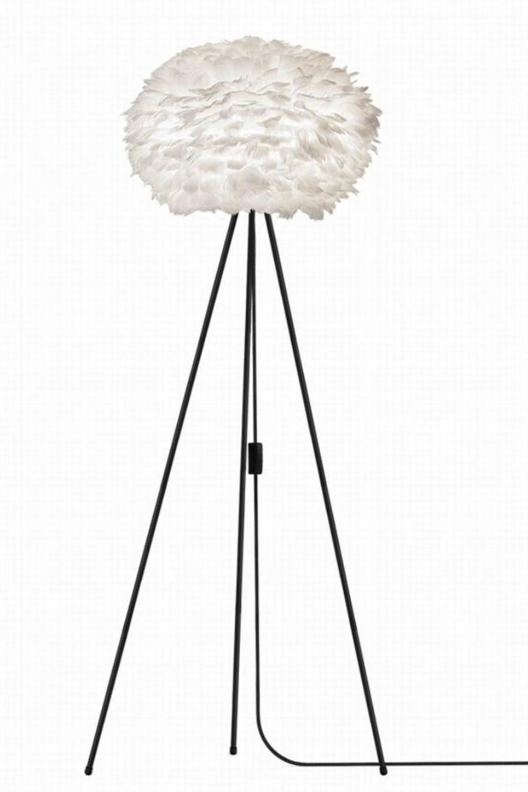 Vita Feather Floor Lamp from South West England by The ...