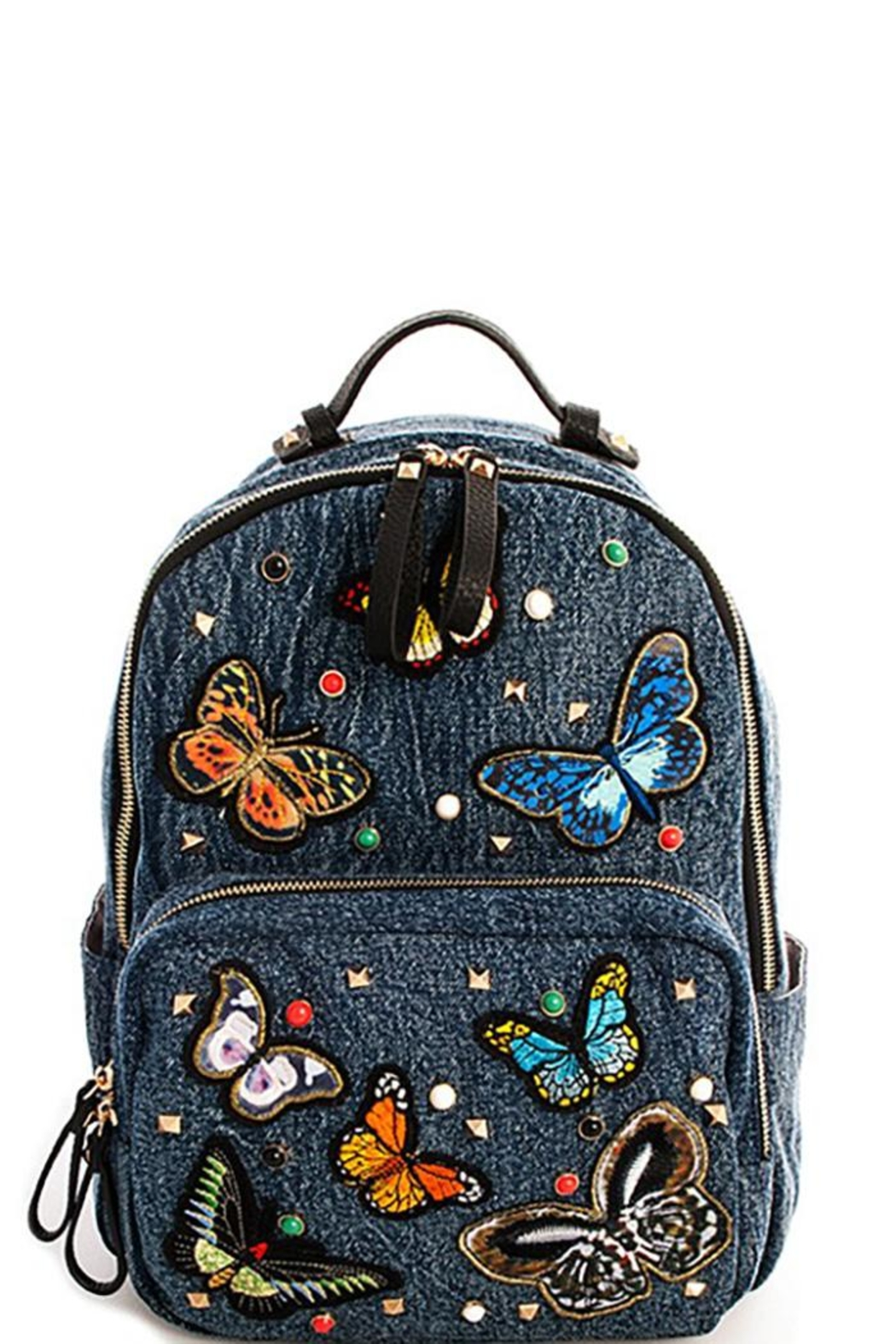 Vital Butterflies Back Pack - Front Cropped Image