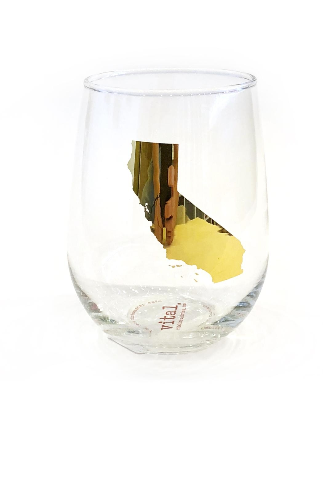 Vital Industries Stemless Wine Glass - Main Image