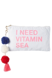 Sundry Vitamin Sea Zip Pouch - Front cropped